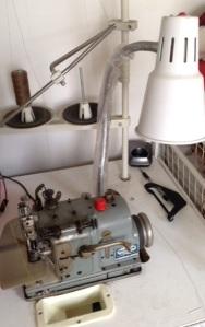 Pearl stitch machine.